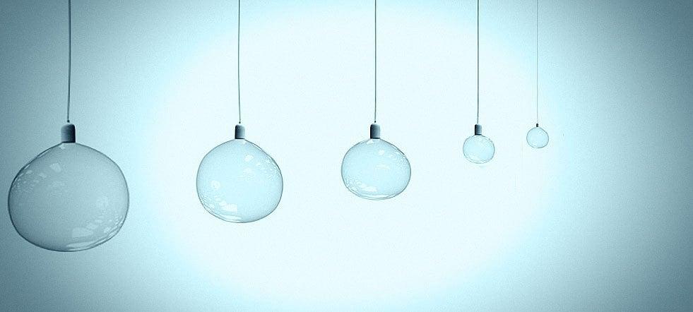 L mparas de techo la luz ambiental m s importante abcpedia - Pintar lamparas de techo ...